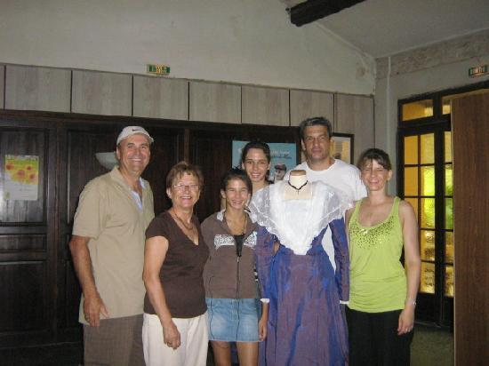 L' Auberge Rognonaise : le petit québecois et ses hôtes