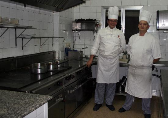 El Chaleco: La cuisine