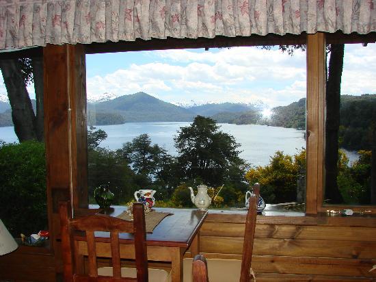 Hosteria Belvedere: Estar-Desayunador. Hermosisimas vistas