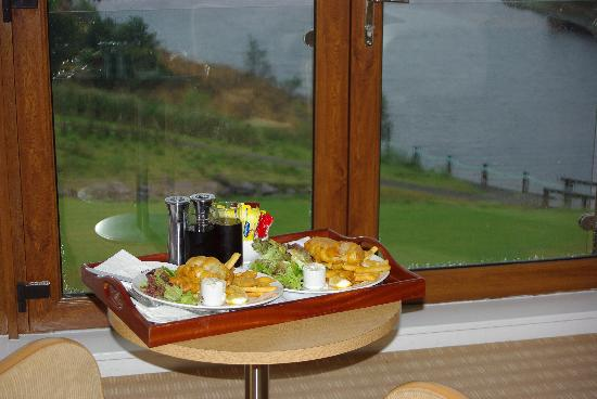 Sneem Hotel: The best fish and Chips ever eaten