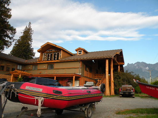 Bella Coola, Canada: tour office