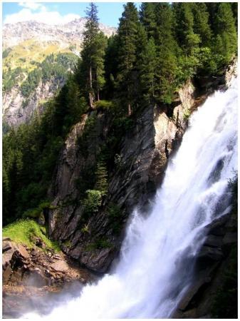 Krimml Falls (Krimmler Wasserfalle): ještě větší kýč!!