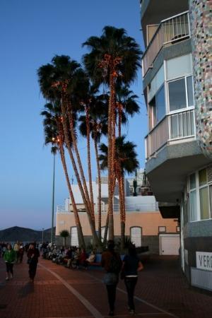 Playa de Las Canteras: Paseo de Las Canteras