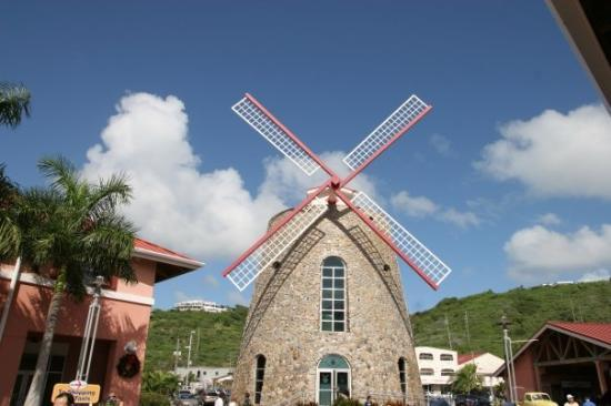 Really Nice Friendly Bar Located Inside This Windmill For