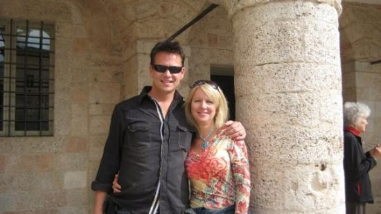 Me and Deb in Norcia