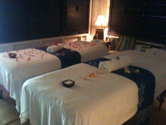 Spa Baan Suerte: the massage room