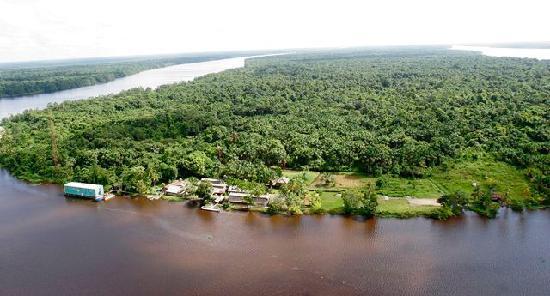 Isla Tigre, Venezuela: Vista aerea Boca De Tigre