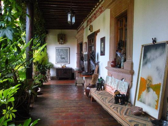 Hotel Casa de la Real Aduana: The corridor in front of the rooms