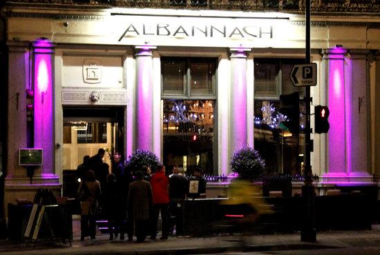Albannach restaurant, Trafalgar Square