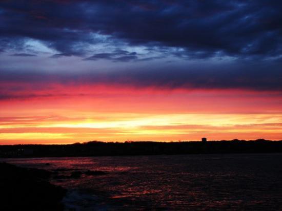 York Beach, ME: York sunset 051709