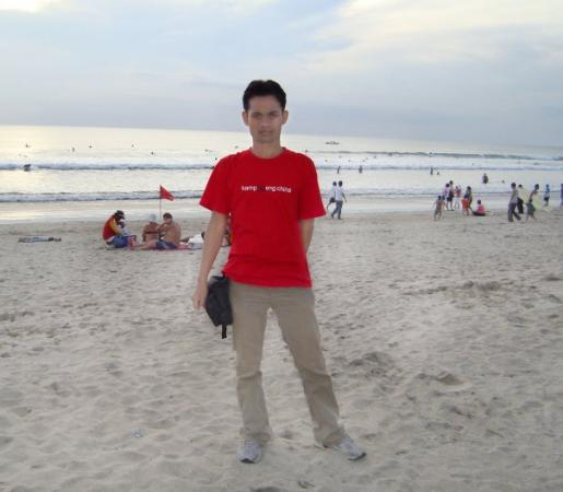 Legian, Indonesia: Kuta Beach 04-04-09