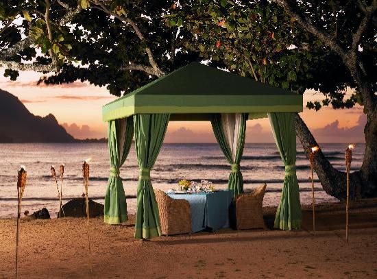 St. Regis Princeville Resort: Romantic Dinner