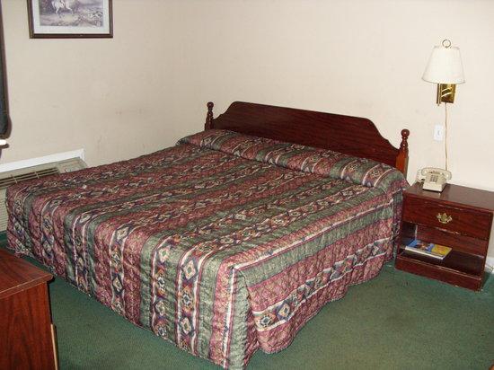 Hartsville Motel: Bed