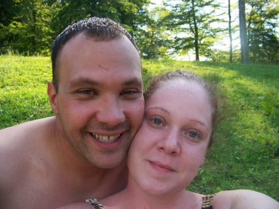 Racine, OH: Me and the wife at forked run in Ohio