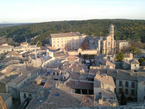L'Albiousse : View over Village from Dukes Tower near hotel