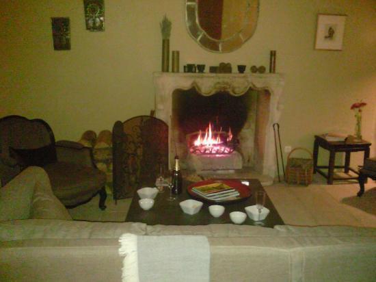 L'Albiousse : Hotels sitting room  Wonderful !