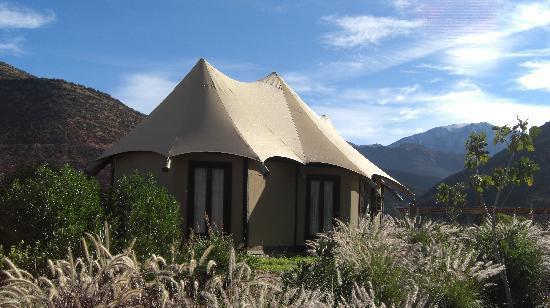 Kasbah Tamadot : Berber tent