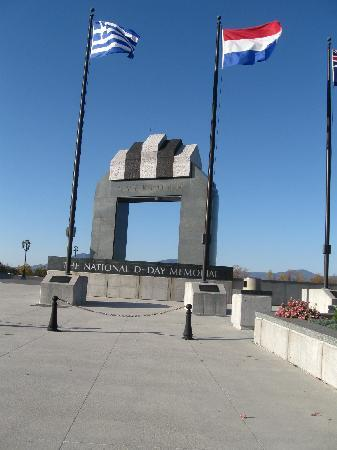 National D-Day Memorial: front entrance