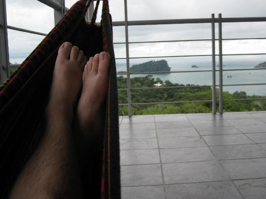 Villa Manuel Antonio: cannot beat this view...I want to be back in this hammock!