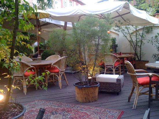 Alchymist Nosticova Palace: The best garden in town