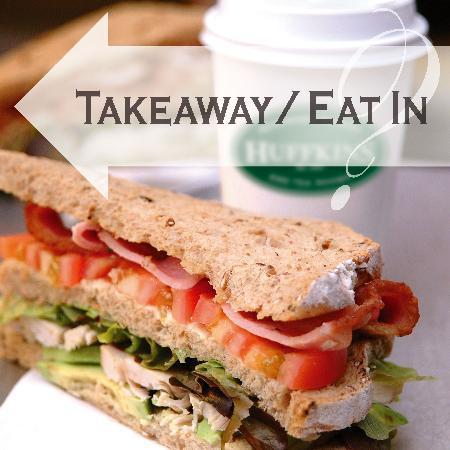 Huffkins: Takeaway or eat in