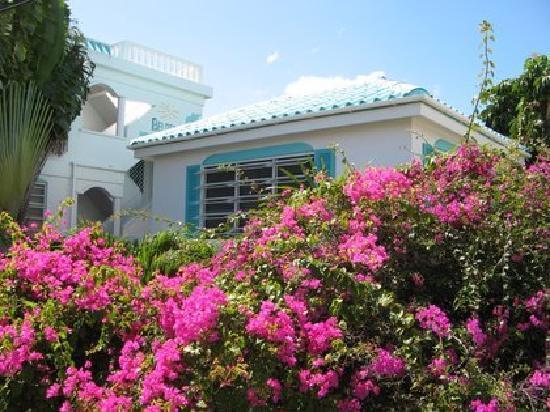 Belizean Reef Suites: Courtyard Entrance
