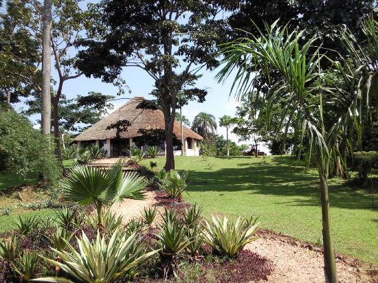 Lagoon Resort - the main building + gardens