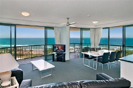 Key Largo Holiday Apartments : Ocean views from large living areas