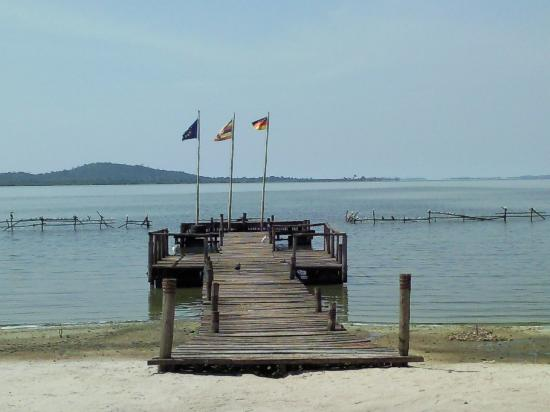 Lagoon Resort jetty