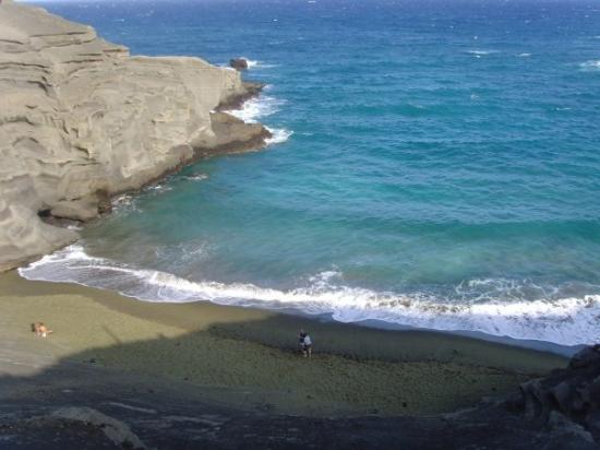 Наалеху, Гавайи: green sands