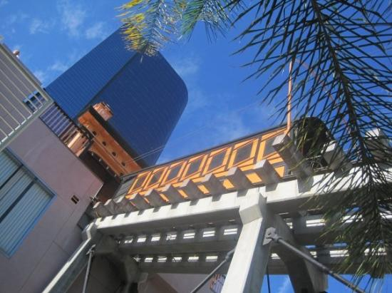 Angels Flight Railway : Angels Flight.  Was once used to transport the wealthy from the LA heights down into the city.