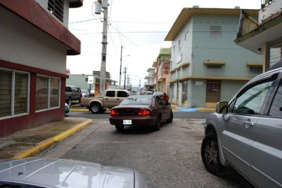 Caguas, Puerto Rico: The streets in PR are really narrow... much to my hubby's chagrin.  Thank goodness I was driving