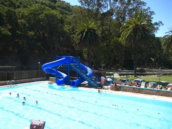 Avila Beach, Californien: Water Slides