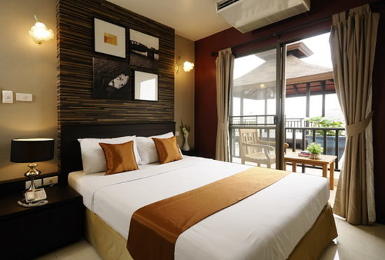 Rikka Inn: Deluxe Double Room with Private Balcony