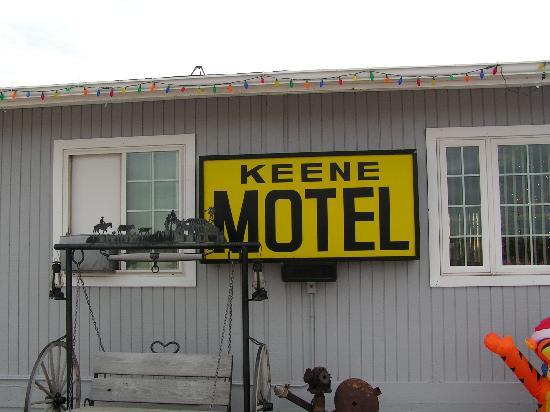 Keene Motel: office