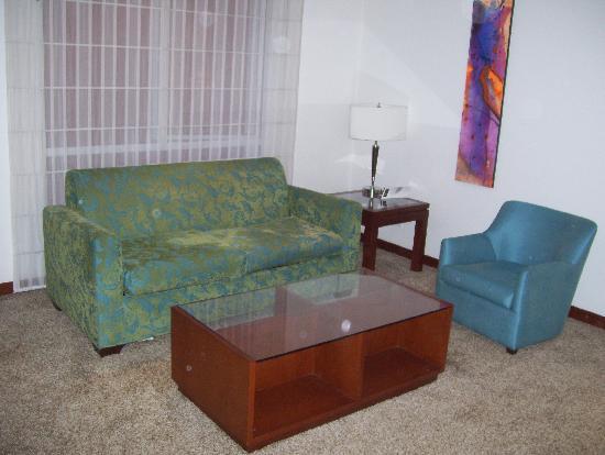NH Bogota Pavillon Royal: the ugly sofa