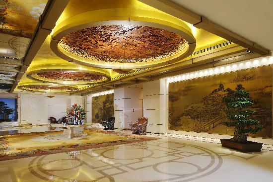 Hotel Lobby Picture Of Pangu 7 Star Hotel Beijing