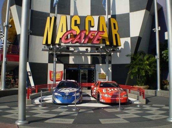 NASCAR Sports Grille: Nascar Cafe. Orlando, Florida Oct 06