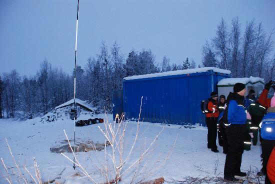 Davvi Arctic Lodge: Activity centre