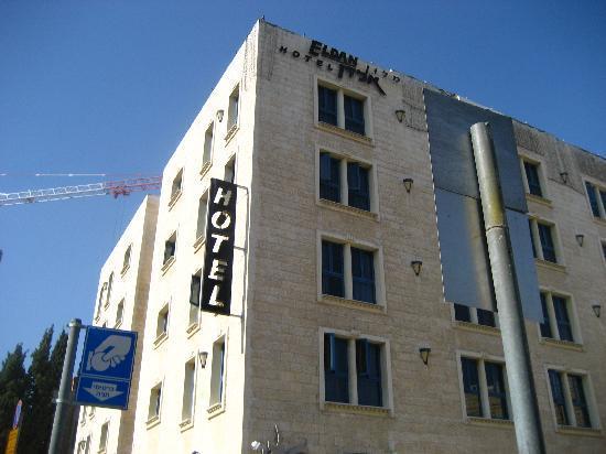 Eldan Hotel: Eldan exterior