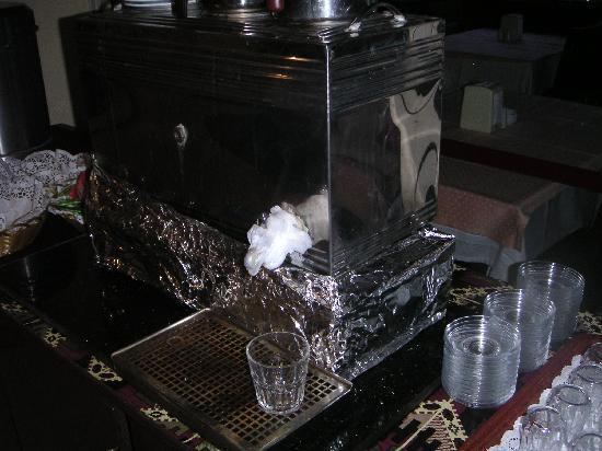Alatimya Village : Plastic bag hot water filter!