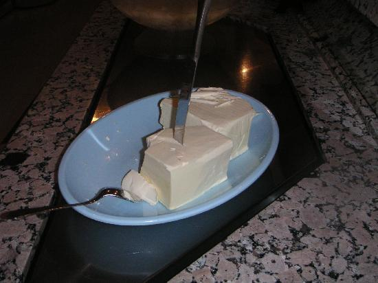 Alatimya Village: You will not eat butter, you will eat margerine!