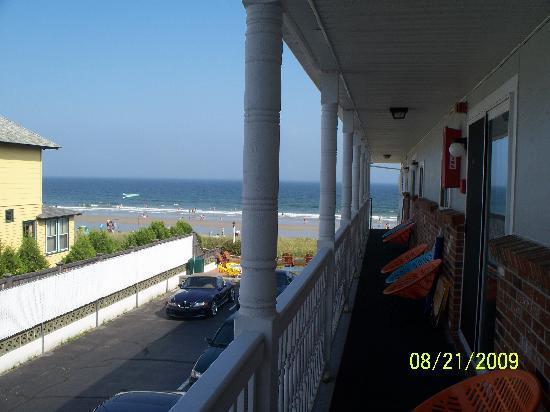 Kebek 2 Motel: balcon,vers la plage