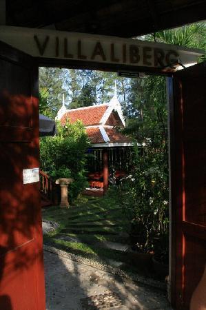 Seapines Villa Liberg: L'entrée de la Villa Liberg