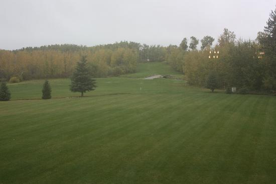 Inn on the 10th: view of the golf course