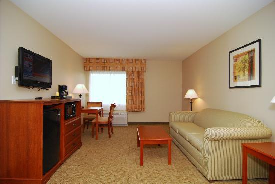Quality Inn & Suites Near Fairgrounds Ybor City: Suite
