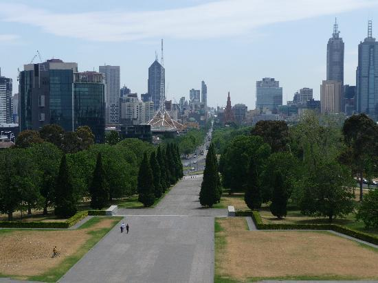 The Langham: Melbourne from the Shrine