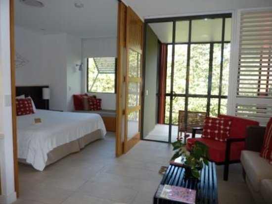 Suffolk Park, Australia: Delux spa suite