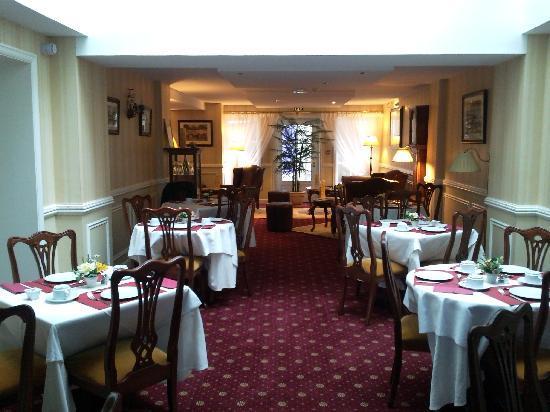 Georges VI: salle petits déjeuners