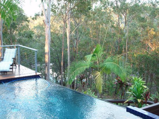 Mia Mia Bed and Breakfast : Infinity pool